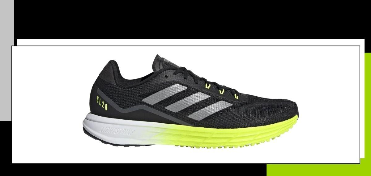 Las mejores zapatillas minimalistas para correr, adidas SL20.2