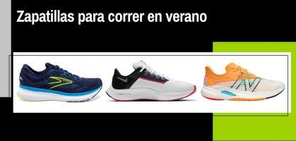 Las 8 mejores zapatillas de running para correr en verano