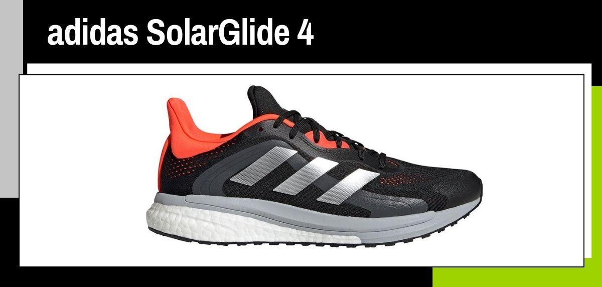 Mejores zapatillas running para correr en verano, adidas SolarGlide 4