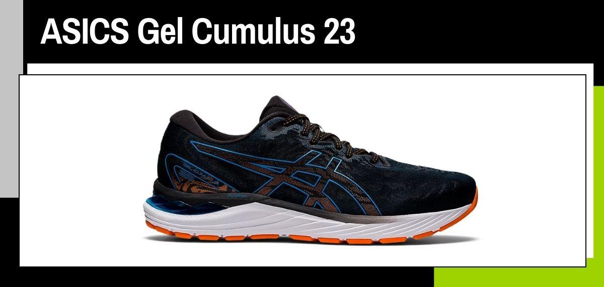 Mejores zapatillas running para correr en verano, ASICS Gel Cumulus 23