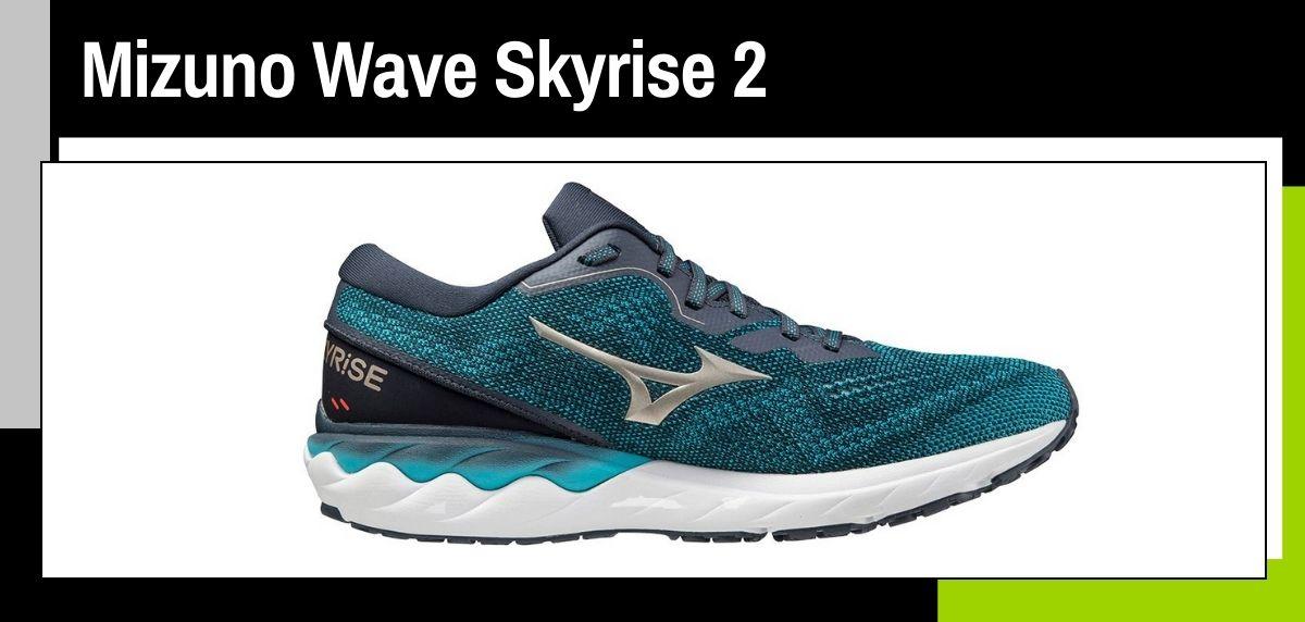Mejores zapatillas running para correr en verano, Mizuno Wave Skyrise 2