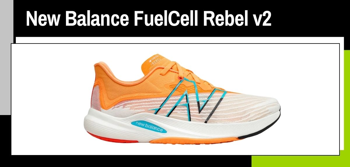 Mejores zapatillas running para correr en verano, New Balance FuelCell Rebel v2