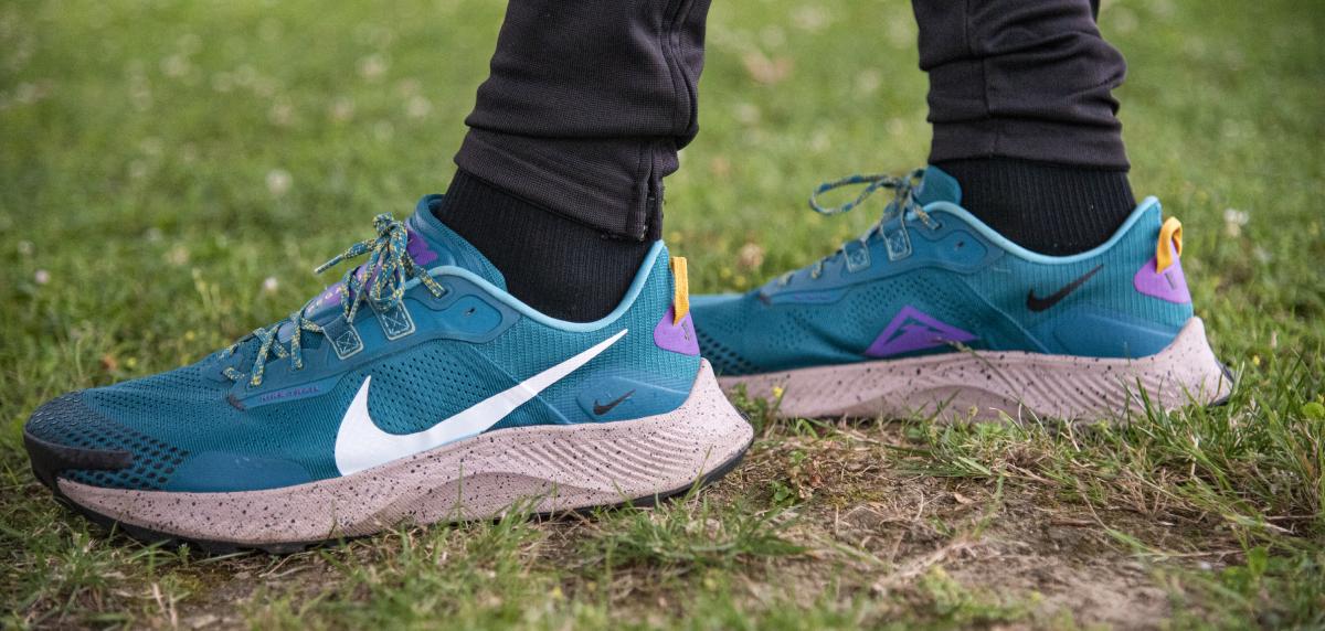 Nike Pegasus Trail 3, detalle