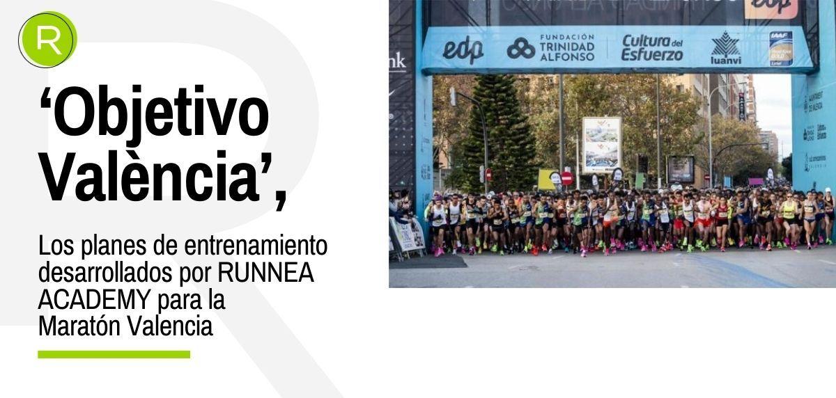 Tecnología RUNNEA Academy en la nueva app de entrenamiento de la Maratón de Valencia