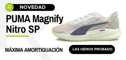 PUMA Magnify Nitro SP, zapatillas running de máxima amortiguación para disfrutar corriendo