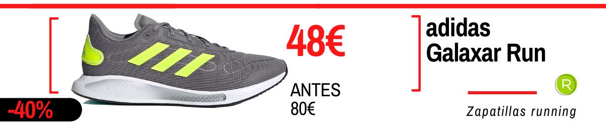 Rebajas de verano adidas en zapatillas running - adidas Galaxar Run