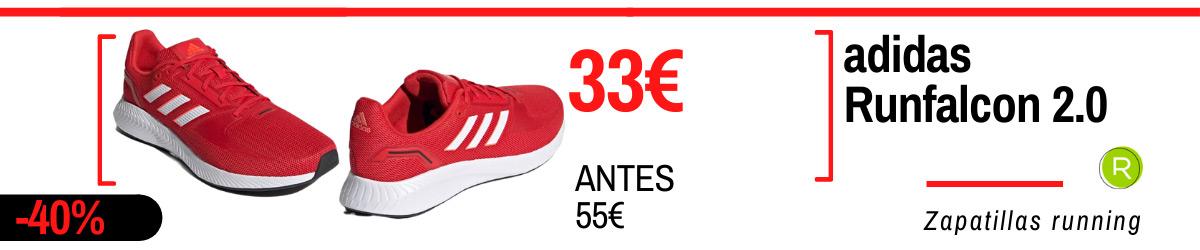 Rebajas de verano adidas en zapatillas running - adidas Runfalcon 2.0