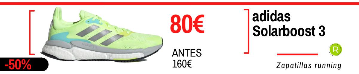 Rebajas de verano adidas en zapatillas running - adidas Solarboost 3