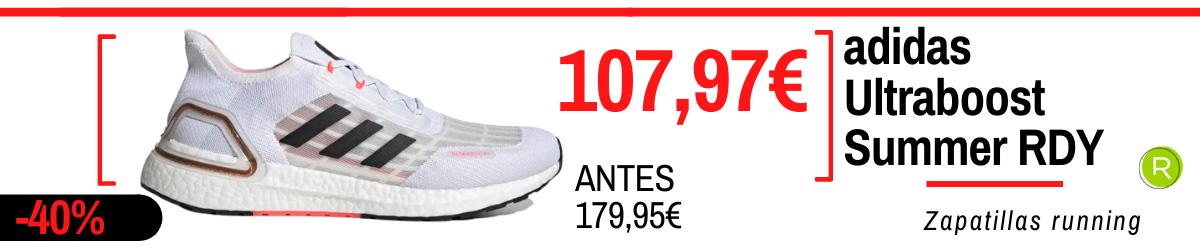 Rebajas de verano adidas en zapatillas running - adidas Ultraboost Summer DRY