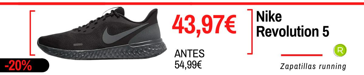 Rebajas de verano Nike en zapatillas running - Nike Revolution 5