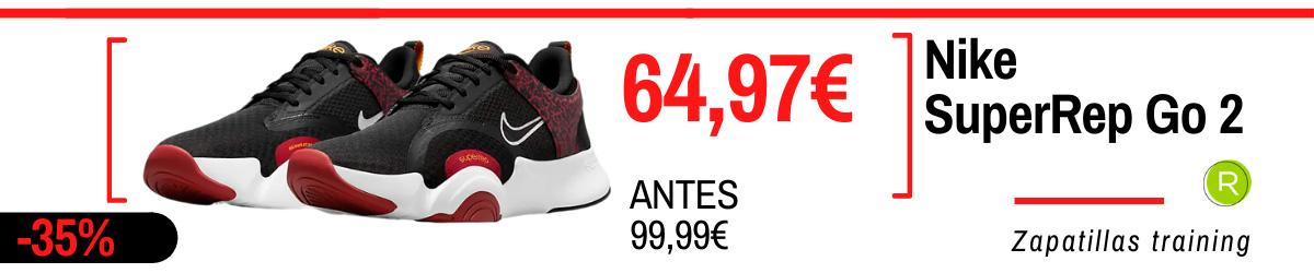 Rebajas de verano Nike en zapatillas training - Nike SuperRep Go 2