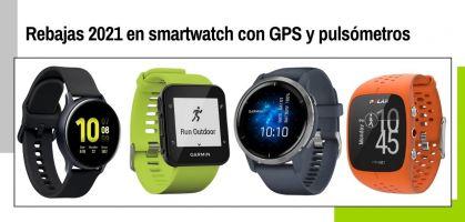 Rebajas relojes para correr en 2021: los mejores smartwatch con GPS y pulsómetros