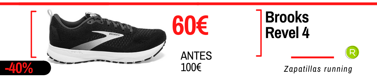 Rebajas de verano 2021 en zapatillas running - Brooks Revel 4
