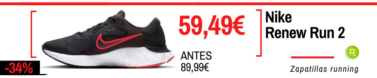 Rebajas de verano Nike en zapatillas running - Nike Renew Run 2