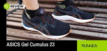 Analizamos las ASICS Gel Cumulus 23, unas zapatillas con gran amortiguación y comodidad