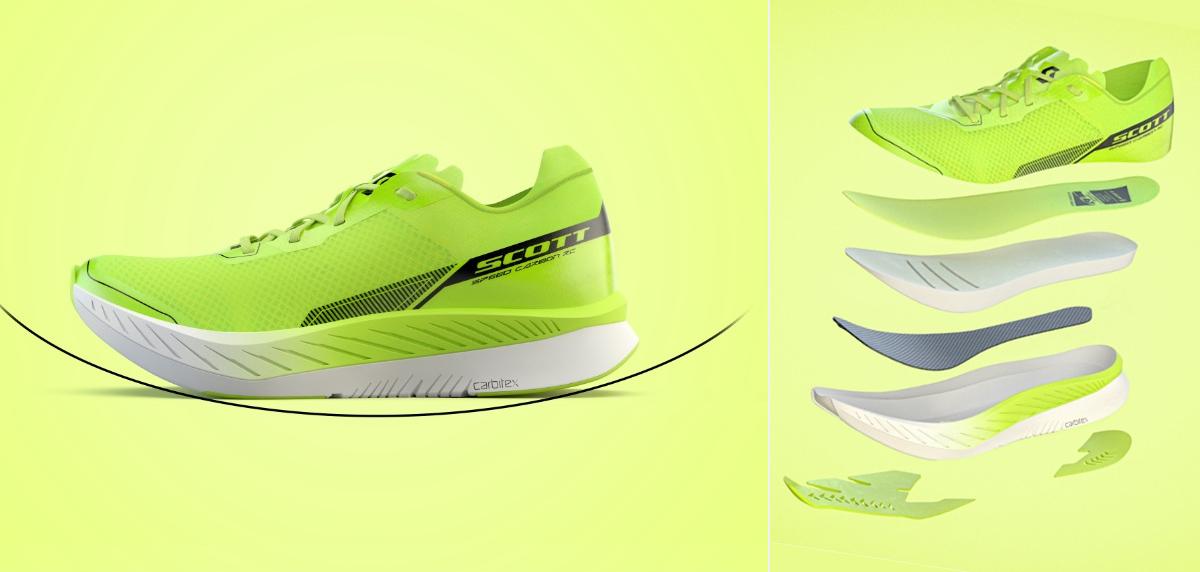 ¿Qué tienen las Scott Speed Carbon RC diferentes al resto de zapatillas voladoras? - foto 1