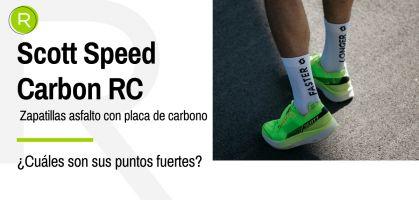 ¿Qué diferencian a las Scott Speed Carbon RC del resto de zapatillas con placa de carbono? ¡Sus detalles más importantes!