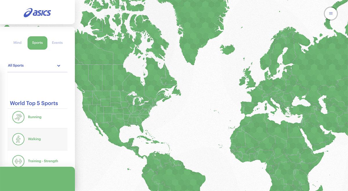 ¿Cómo convertirse en uno de los protagonistas del World Uplift Map de ASICS? - foto 2