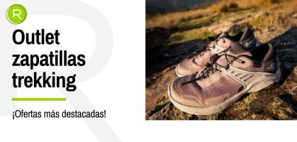 ¡Outlet de zapatillas trekking en RUNNEA, descubre todas las ofertas!