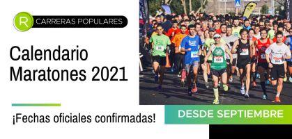 Maratones 2021: calendario de fechas oficiales confirmadas ¡Lo que viene a partir de septiembre!