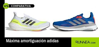 Si vas a elegir una zapatilla de máxima amortiguación, que sea una de estas dos adidas