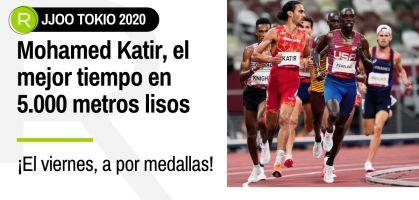 Tokio 2021, en directo: Mohamed Katir confirma su pase directo a la final de 5.000 metros lisos con el mejor tiempo