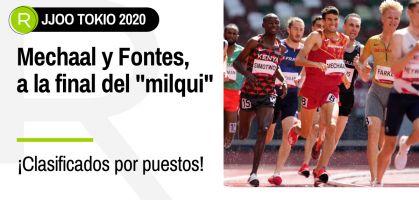 Tokio 2021, en directo: Adel Mechaal e Ignacio Fontes, a la final de los 1.500 metros lisos