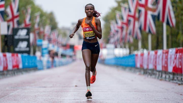 Favoritas del maratón olímpico femenino de los Juegos Olímpicos de Tokio 2020, Brigid Kosgei - foto 1