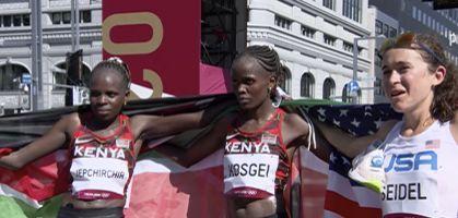Las zapatillas running de las medallistas del Maratón de Tokio 2020