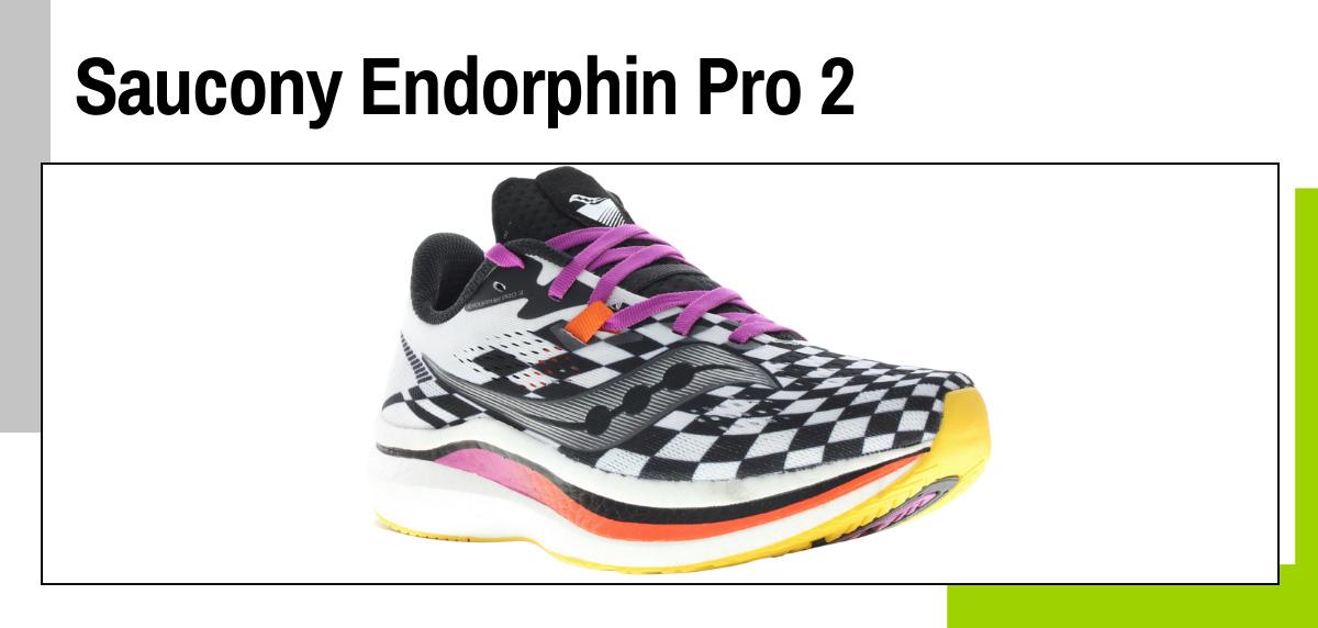 Mejores zapatillas running con placa de fibra de carbono - Saucony Endorphin Pro 2