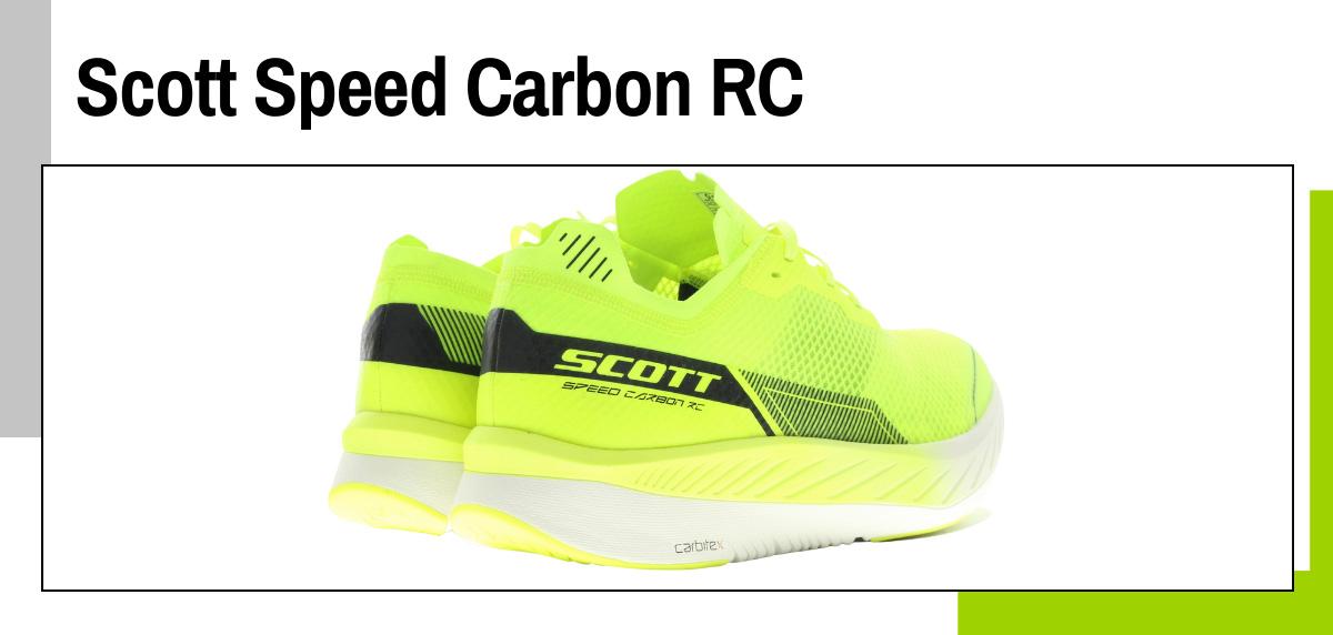 Mejores zapatillas running con placa de fibra de carbono - Scott Speed Carbon RC