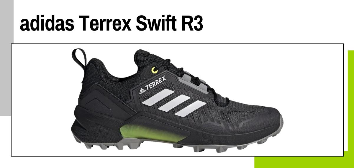 Meilleures chaussures de trekking 2021 - adidas Terrex Swift R3