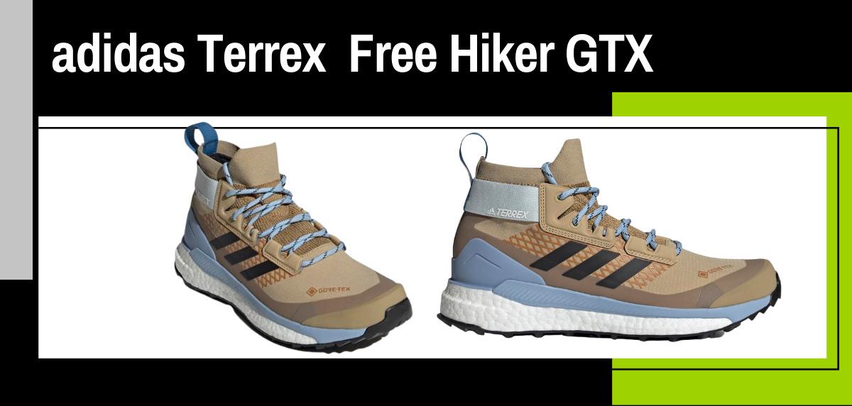 Mejores zapatillas trekking 2021 para hacer el Camino de Santiago - adidas Terrex Free Hike GoreTex