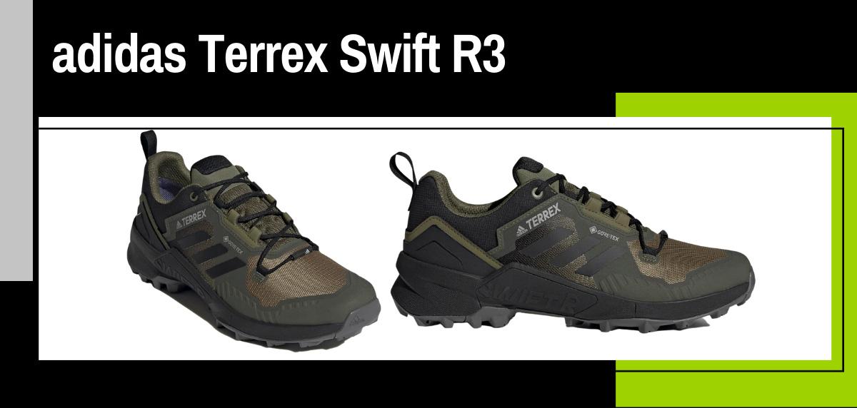 Mejores zapatillas trekking 2021 para hacer el Camino de Santiago - adidas Terrex Swift R3