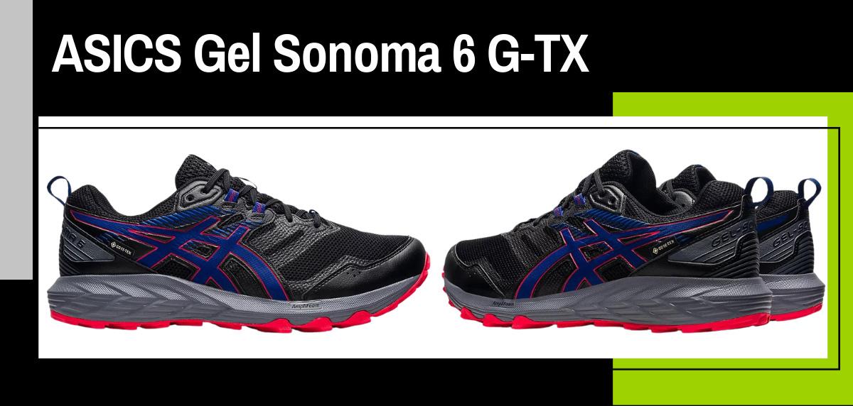 Mejores zapatillas trekking 2021 para hacer el Camino de Santiago - ASICS Gel Sonoma 6 Goretex