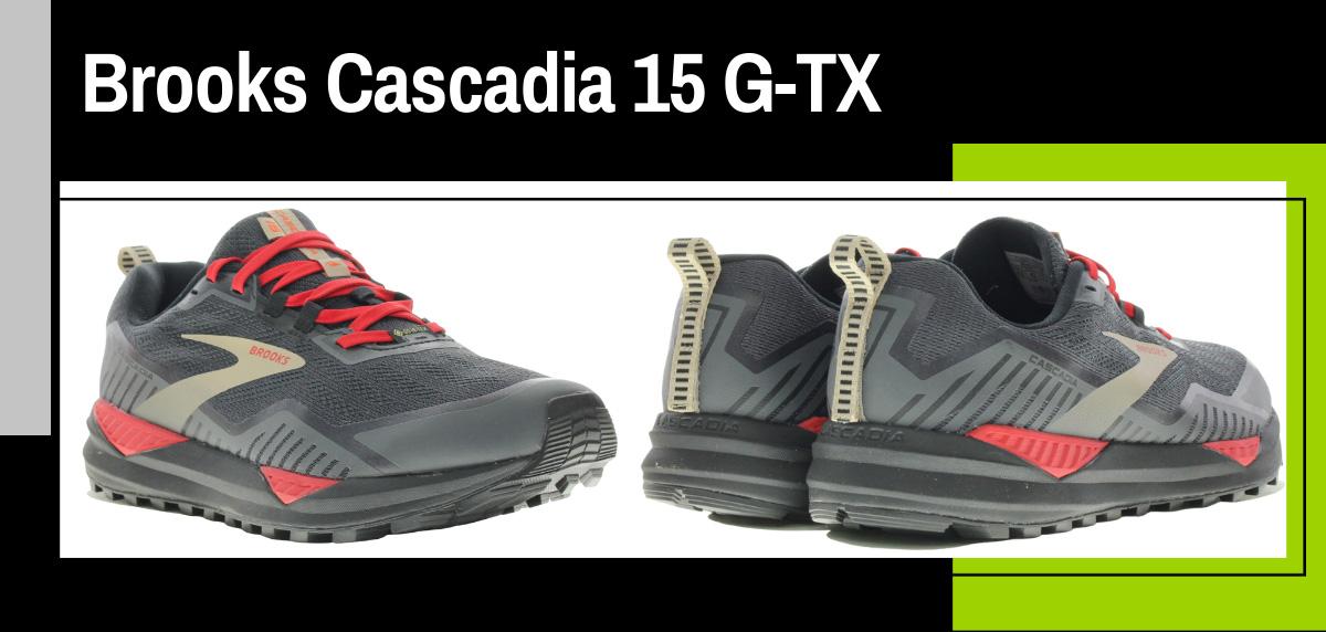 Mejores zapatillas trekking 2021 para hacer el Camino de Santiago - Brooks Cascadia 15 Goretex