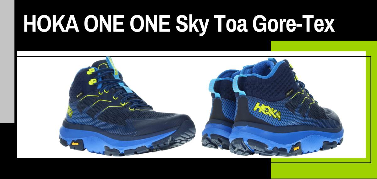 Mejores zapatillas trekking para hacer el Camino de Santiago - Hoka One One Sky Toa Gore-Tex