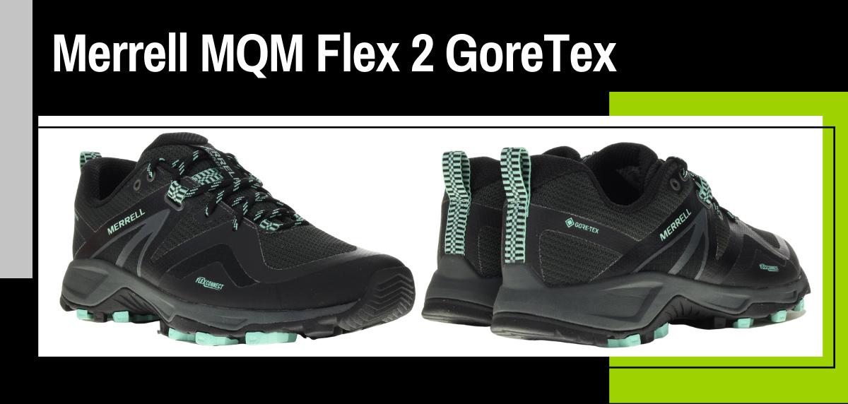 Mejores zapatillas trekking 2021 para hacer el Camino de Santiago - Merrell MQM Flex 2 GoreTex
