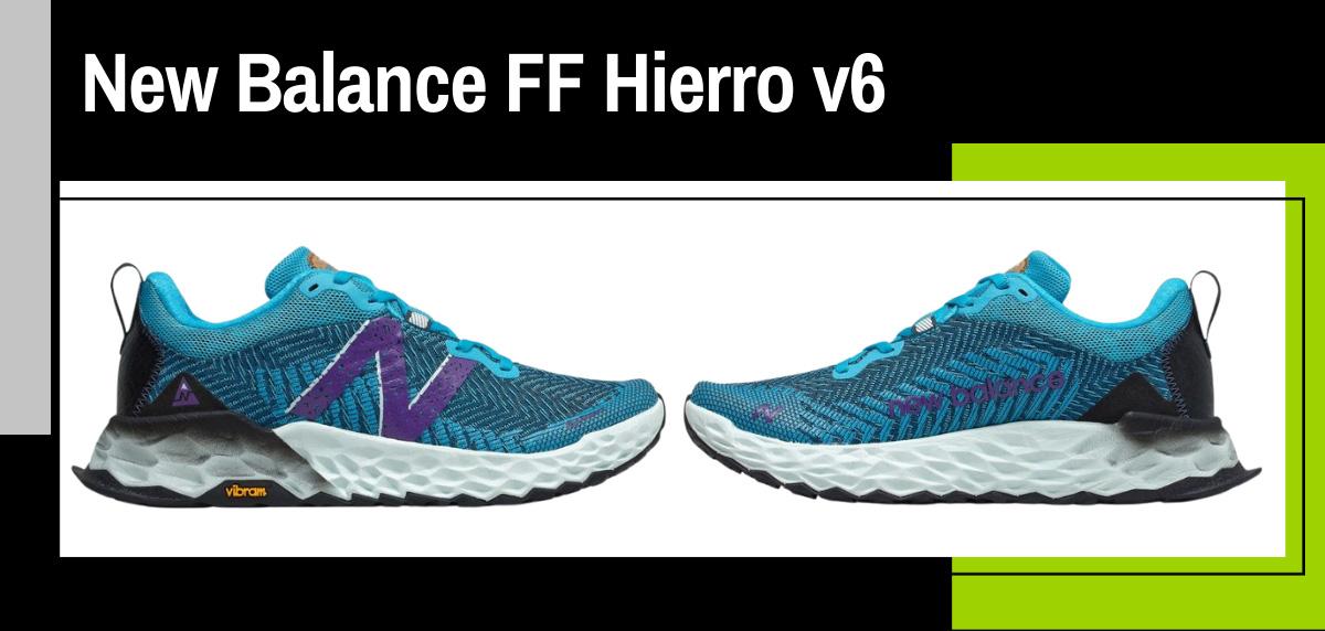 Mejores zapatillas trekking 2021 para hacer el Camino de Santiago - New Balance Fresh Foam Hierro v6