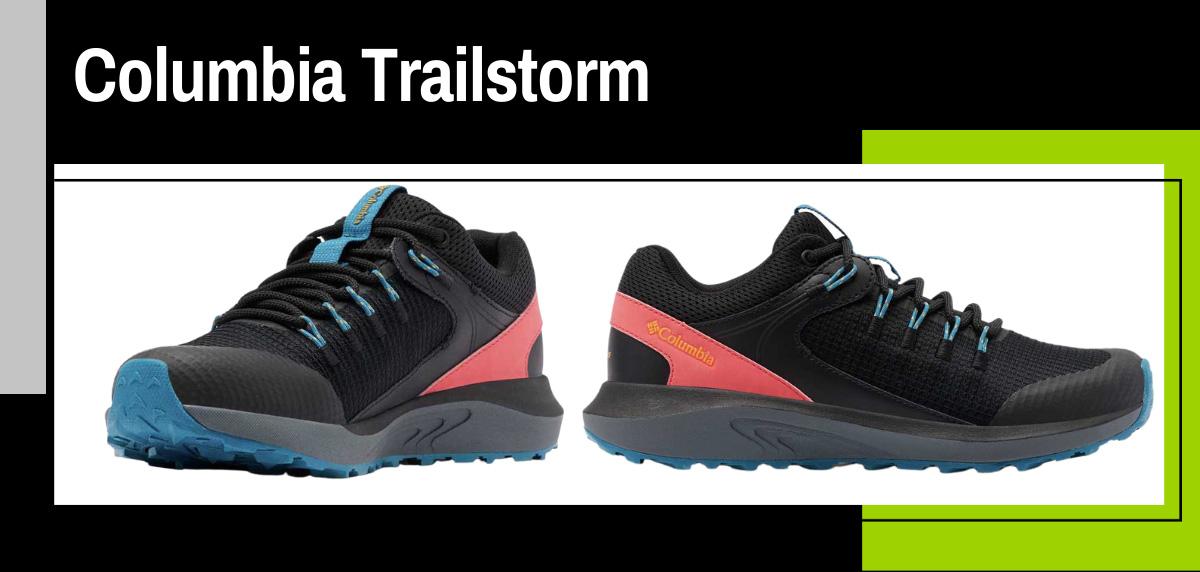 Mejores zapatillas trekking 2021 para hacer el Camino de Santiago - Columbia Trailstorm
