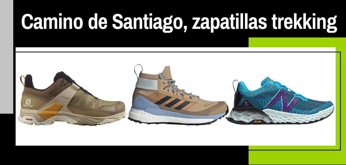 Mejores zapatillas de trekking para hacer el Camino de Santiago