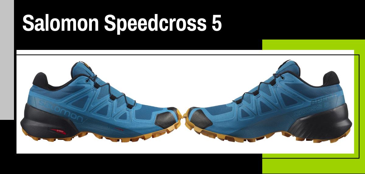 Mejores zapatillas trekking para hacer el Camino de Santiago - Salomon Speedcross 5
