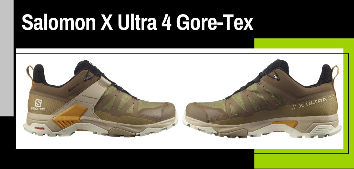 Mejores zapatillas trekking para hacer el Camino de Santiago - Salomon X Ultra 4 Gore-Tex