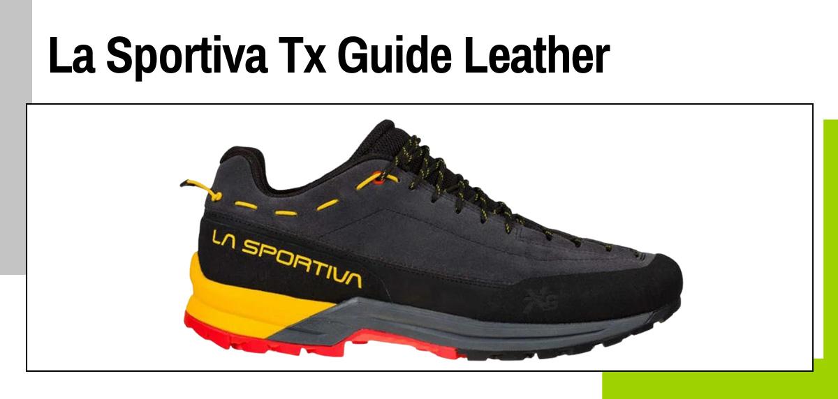 Meilleures chaussures de trekking 2021 - La Sportiva Tx Guide Leather
