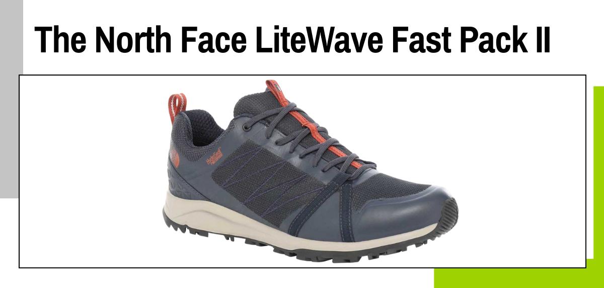Meilleures chaussures de trekking 2021 - The North Face LiteWave Fast Pack II