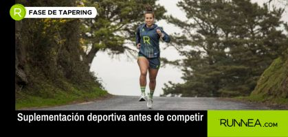 ¡No sólo para recuperar mejor y más rápido, la suplementación deportiva también es necesaria antes de competir!