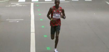 Eliud Kipchoge campeón olímpico de Maratón en Tokio 2020