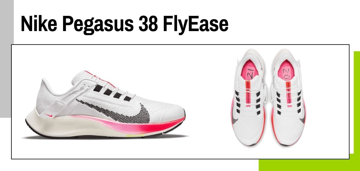 6 tendencias en zapatillas running Nike que puedes comprar por menos de 90€, Nike Pegasus 38 FlyEase