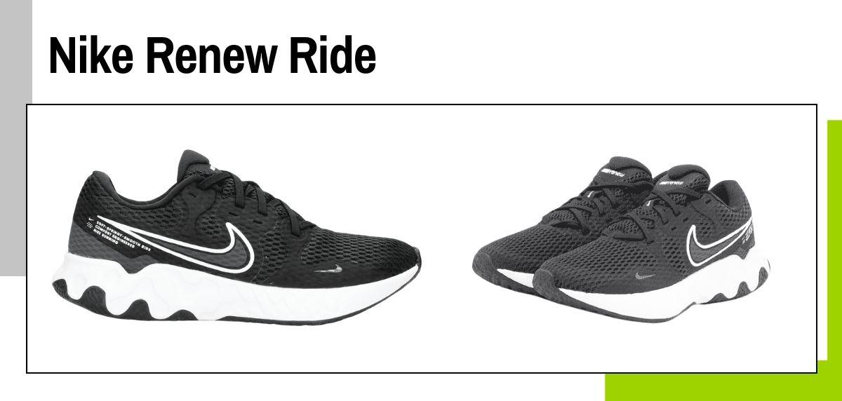 6 tendencias en zapatillas running Nike que puedes comprar por menos de 90€, Nike Renew Ride