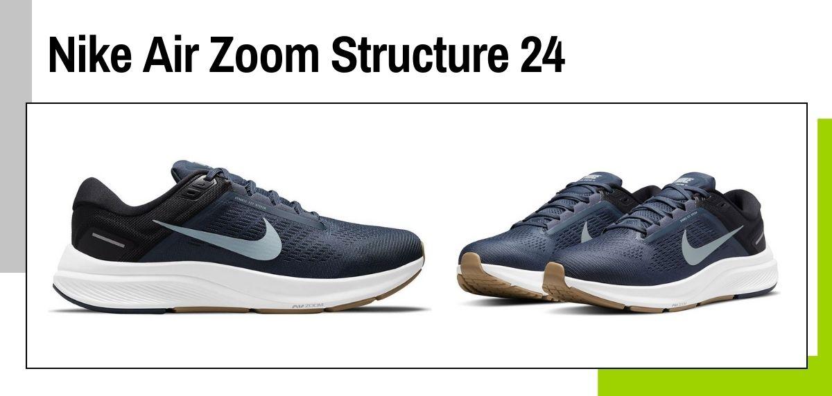 6 tendencias en zapatillas running Nike que puedes comprar por menos de 90€, Nike Air Zoom Structure 24